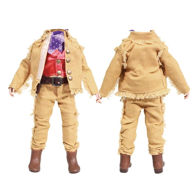 SHAMEBODY - Tan Cowboy Complete Outfit with 8 inch Body (Body Included)
