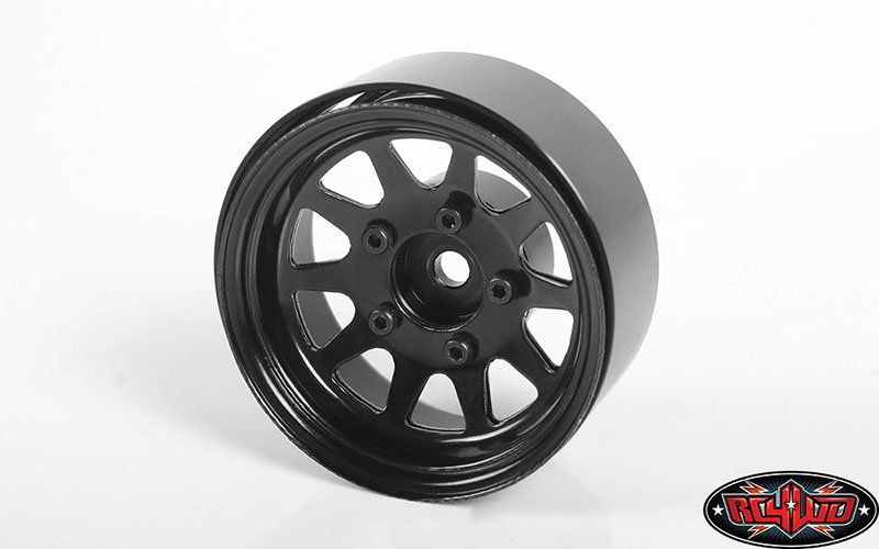 "Z-W0262 - OEM Stamped Steel 1.55"" Beadlock Wheels (Black)"