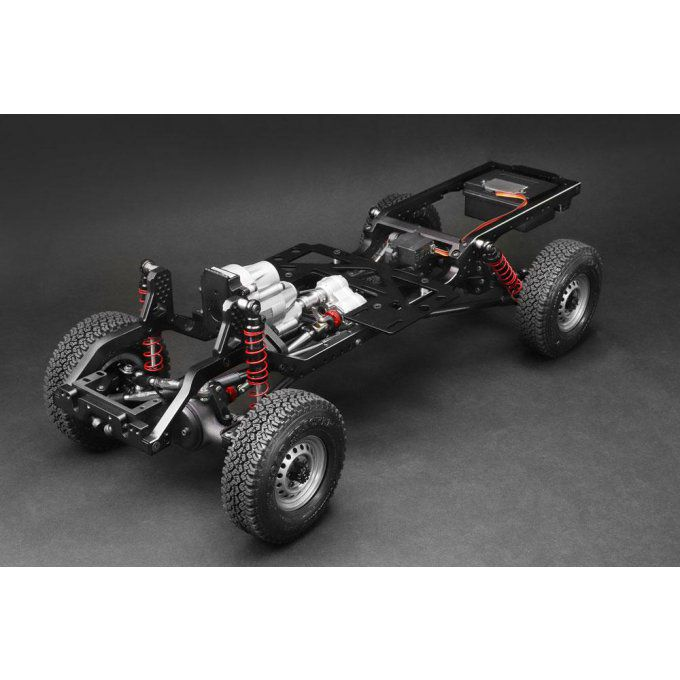 BR8001 - 1/10 4WD Radio Control Chassis Kit for BRX01