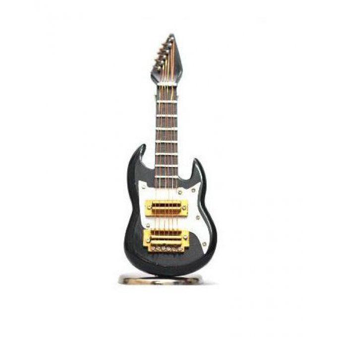 BRSCAC044BK - Electric Guitar Black