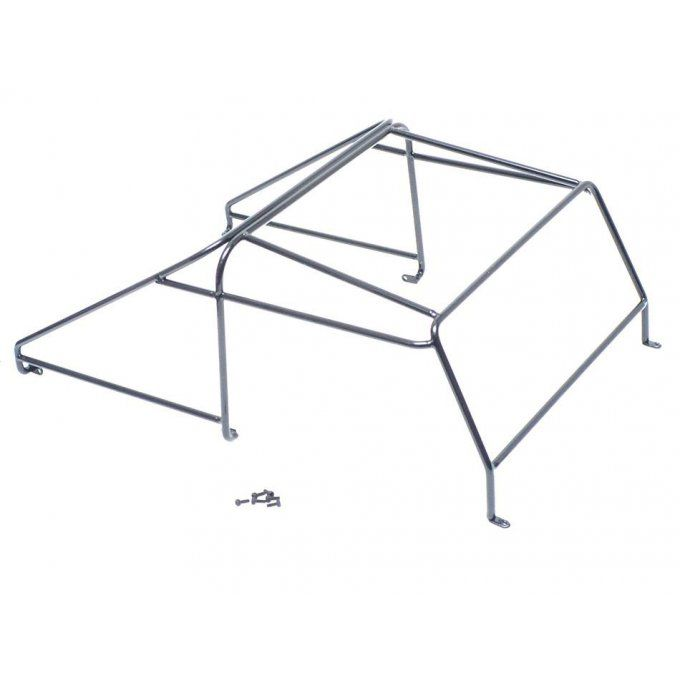 TRC/302224A - Steel Roll Cage Rack for Team Raffee Co. Defender D90 Pickup