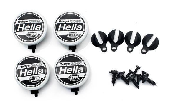 TRC/302469 - Hella Scale Round Rally 3000 Light w/ Mount (4)