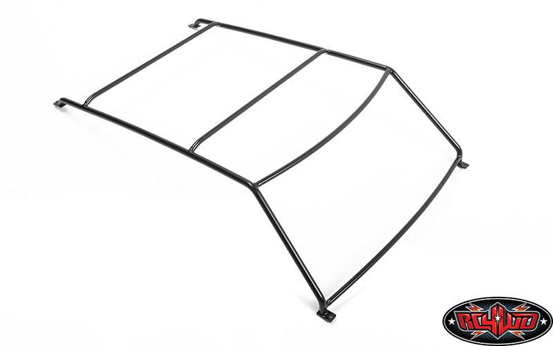 VVV-C1025 - Exterior Steel Roll Cage for JS Scale 1/10 Range Rover Classic Body