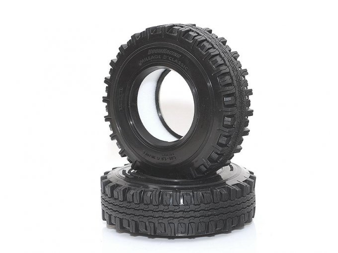 "BRTR19006 - 1.9"" Mileage Classic Scale Crawler Tire Gekko Compound 3.82""x1.0"" (97x26mm) (2)"