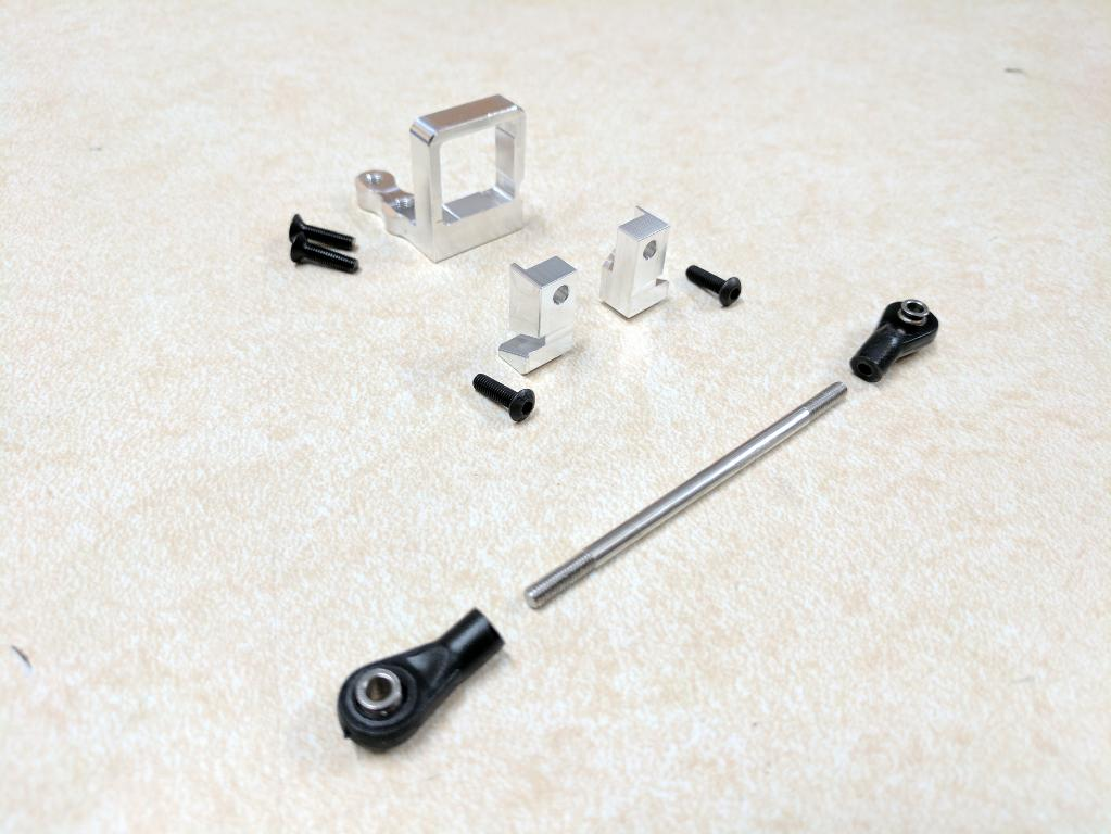 0436 - SCX LRT trans mount kit