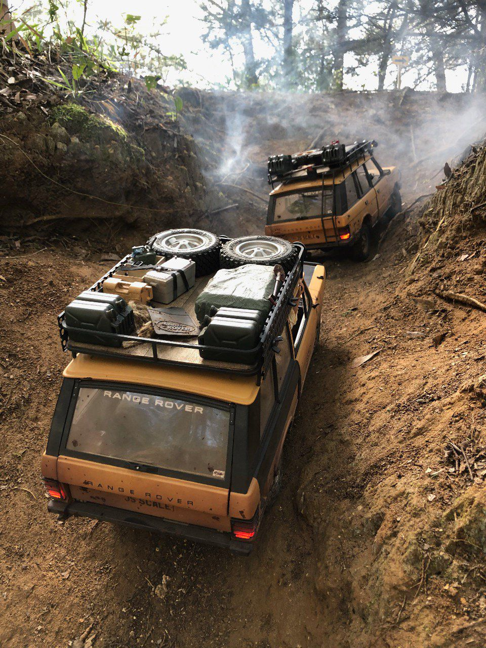 81CTkit - 1981 Camel Trophy kit (3 door Range Rover)
