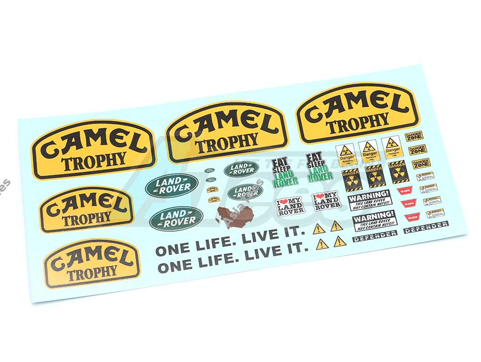 WO/AT003 - Camel Trophy Water Slide Decal Sticker