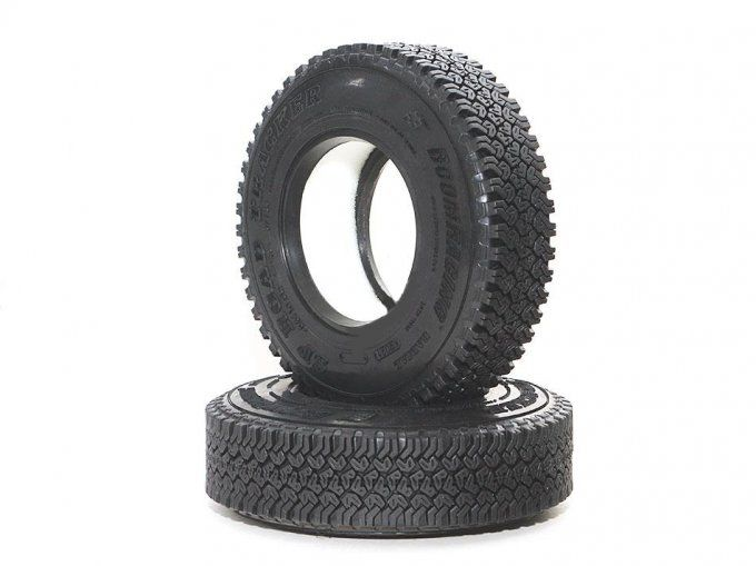"BRTR19005 - 1.9"" SP Road Tracker Crawler Tire Gekko Compound 3.82""x0.94"" (97x24mm) (2)"