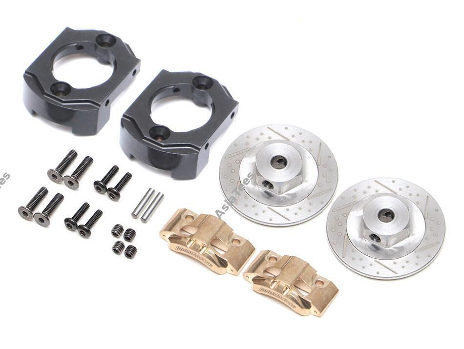 BRLC7081F - Brass Front Brake Disc Set for BRX70/BRX90 Axles for BRX01