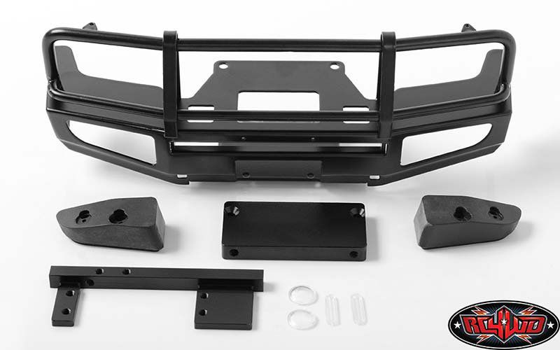 VVV-C0396 - Trifecta Front Bumper for Land Cruiser LC70 Body (Black)