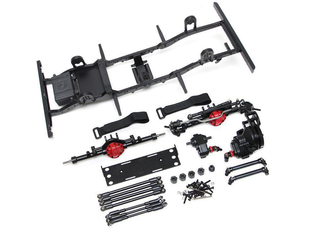 TRC/D90-KIT -1/10 D90 Chassis Kit (Without Shocks Wheels Tires) for TRC Raffee D90 Defender Body