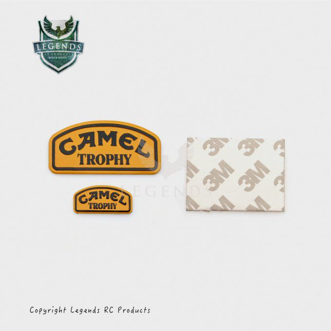 D006 - Camel Trophy Logo Badge set of 2pcs