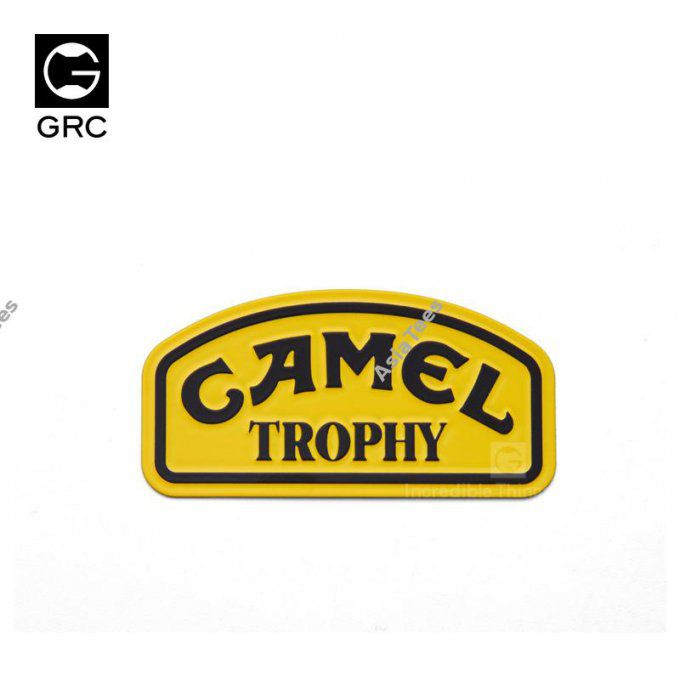 GRC/GAX0107B - GRC 1/10 Metal Sticker Camel Trophy Badge LOGO for D90 D110
