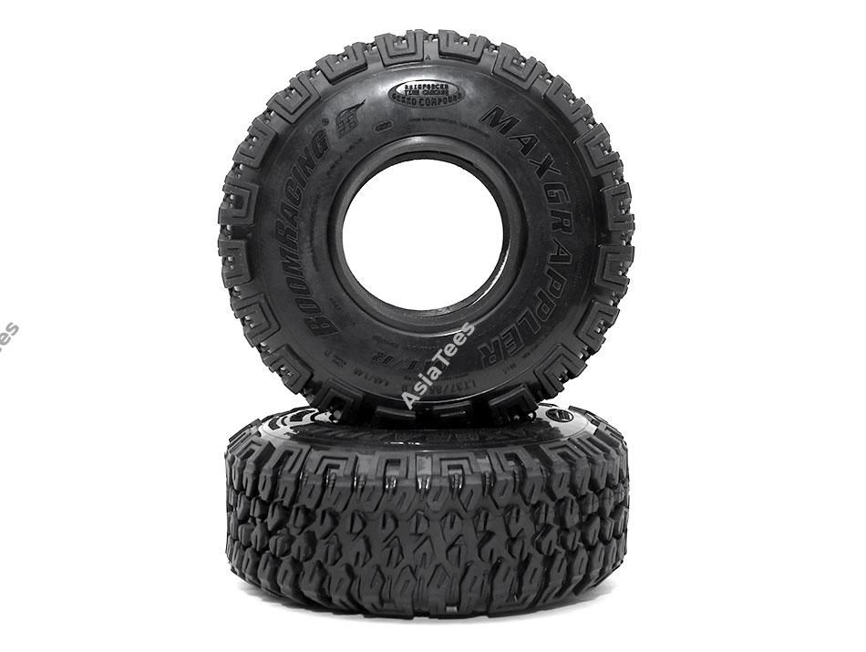 "BRTR19398 - 1.9"" MAXGRAPPLER Scale RC Tire Gekko Compound 4.45""x1.45"" (113x37mm) Open Cell Foams (2)"