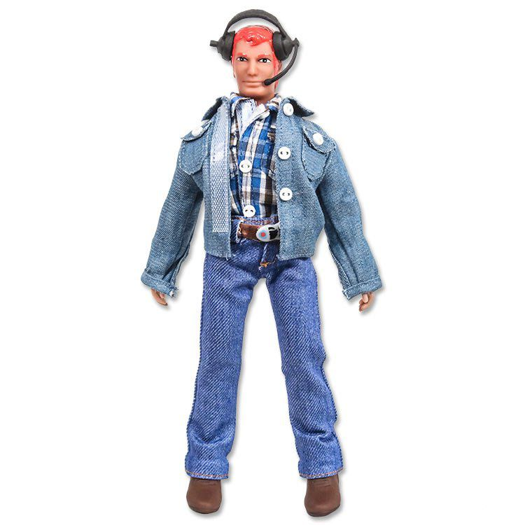 HELICOPTERLUKE - 8 inch Helicopter Pilot action figure with red hair