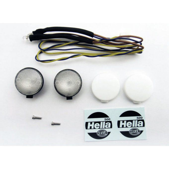 VVV-C0011 - 1/10 Light Assembly with Hella Decal