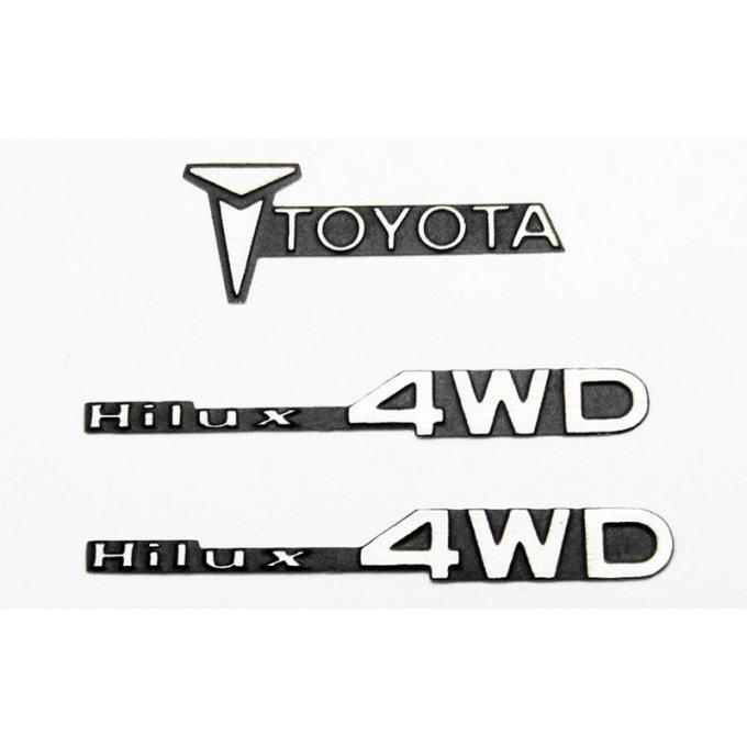 VVV-C0007 - 1/10 METAL EMBLEM FOR TAMIYA HILUX