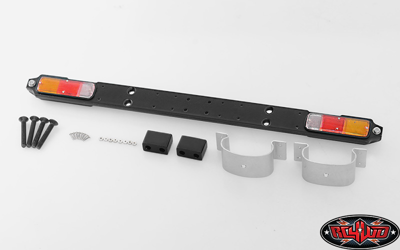 VVV-C0171 - REAR BUMPER ASSEMBLY W/PAD FOR RC4WD G2 CRUISER/FJ40