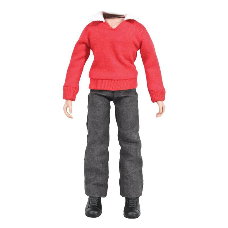 DICK66BODY - 8 inch Red Sweater with Grey Pants with Body & Shoes