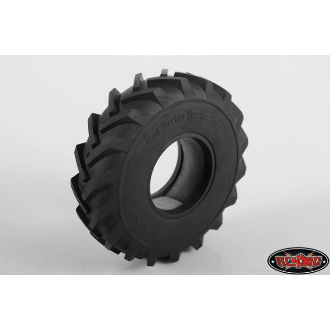 "Z-T0115 - Mud Basher 1.9"" Scale Tractor Tires (x2)"