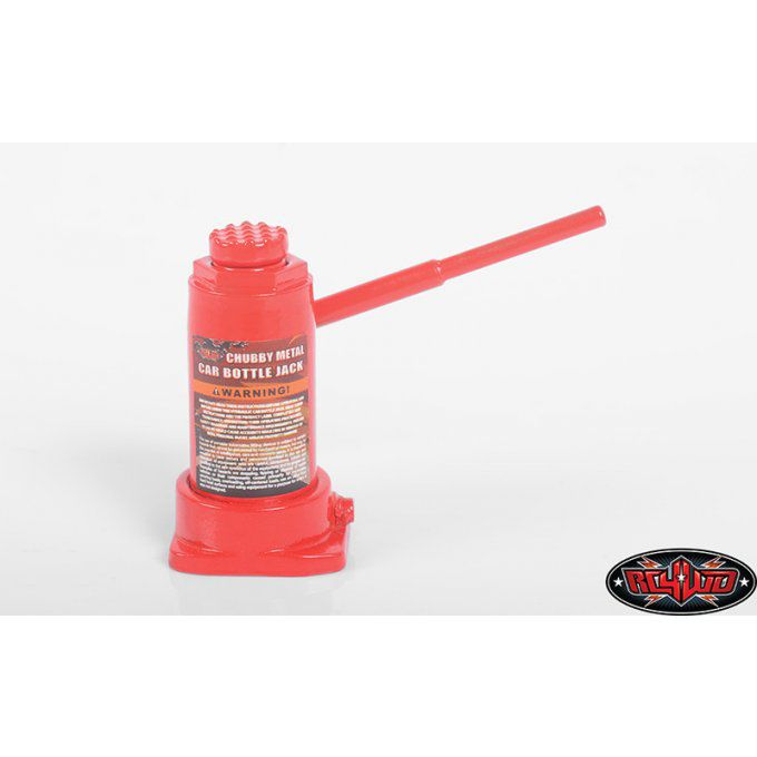 Z-S1824 - CHUBBY METAL CAR BOTTLE JACK