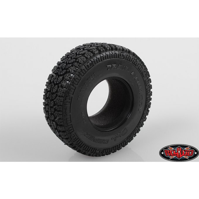 "Z-T0132- 2x Dick Cepek Trail Country 1.7"" Scale Tires"