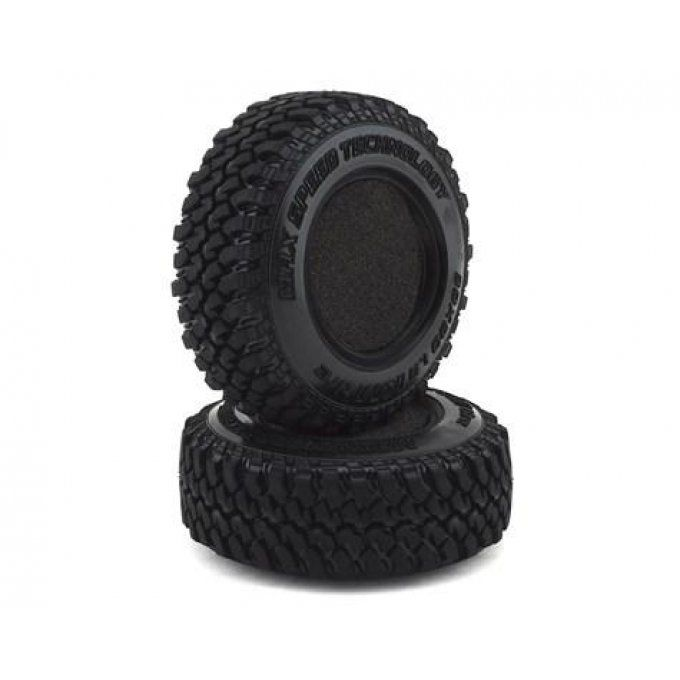 MST/831006 - KM Crawler Tire 30x90mm-1.9 (Soft 30 Deg)