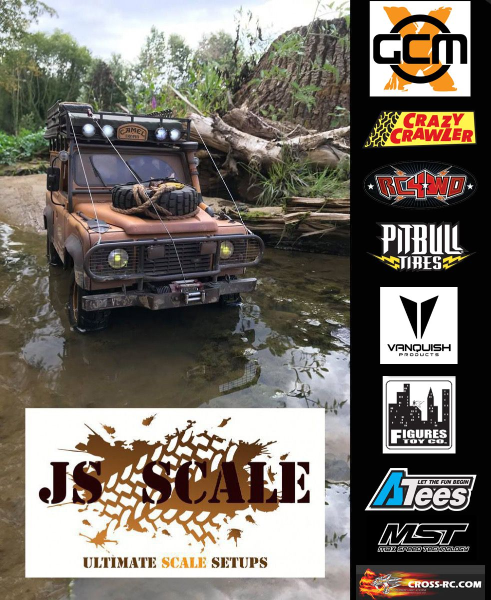 JSscale Accueil : we sell 1:10 4X4 scale bodies, accessories